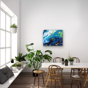 Yin and yang Energy Painting